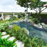 Biệt thự Thảo Điền - Hồ cá